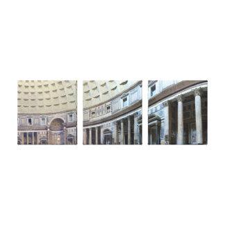 Pantheon 180 Degrees Canvas Print