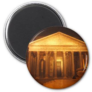 Pantheon at night magnet