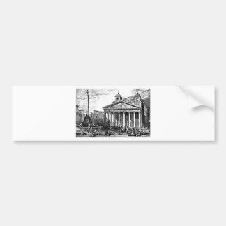 Pantheon Bumper Sticker