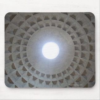 Pantheon  ceiling, low angle wide angle view mouse pad