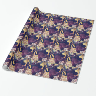 Pantheon Rome Italy Angel painting Wrapping Paper