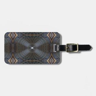 Pantheon Symmetry Luggage Tag
