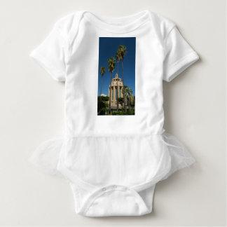 Pantheon, Syracuse, Sicily, Italy Baby Bodysuit