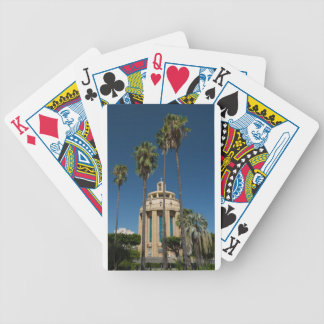 Pantheon, Syracuse, Sicily, Italy Bicycle Playing Cards