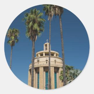 Pantheon, Syracuse, Sicily, Italy Round Sticker