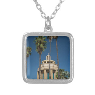 Pantheon, Syracuse, Sicily, Italy Silver Plated Necklace