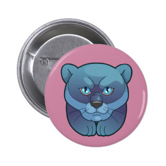 panther 2 inch round button