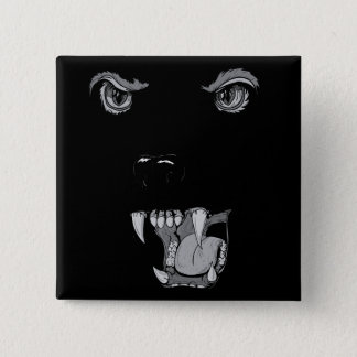 Panther 2 Inch Square Button