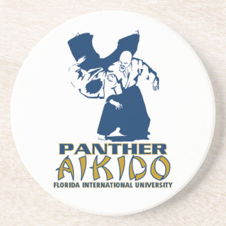 Panther Aikido Sandstone Coaster