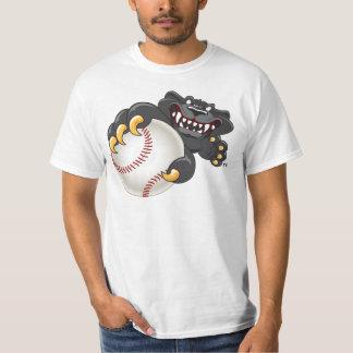 Panther Baseball Mascot T-Shirt