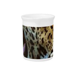 Panther Bearing Teeth Beverage Pitchers