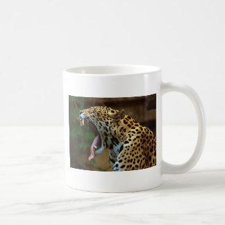Panther Bearing Teeth Coffee Mug