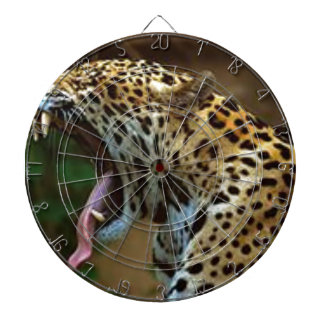 Panther Bearing Teeth Dartboard