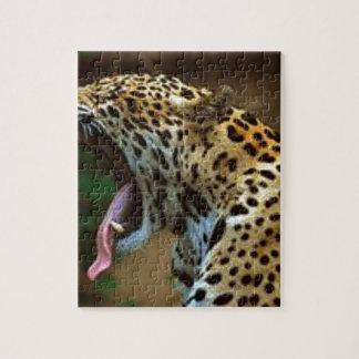 Panther Bearing Teeth Puzzle