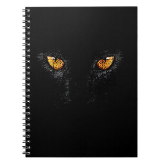 PANTHER, BLACK, NIGHT NOTE BOOKS