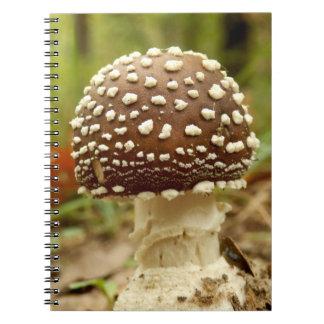 Panther Cap Mushroom Photo Notebook