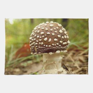 Panther Cap Mushroom Tea Towel