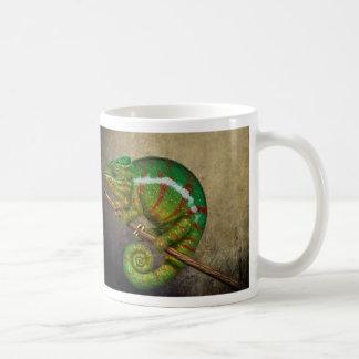 Panther Chameleon Digital Painting Coffee Mug