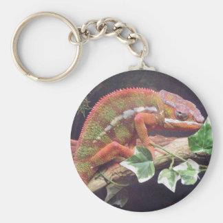 Panther Chameleon Keychain