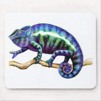 Panther Chameleon Showing his True Colors Mouse Pad