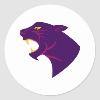 Panther Classic Round Sticker