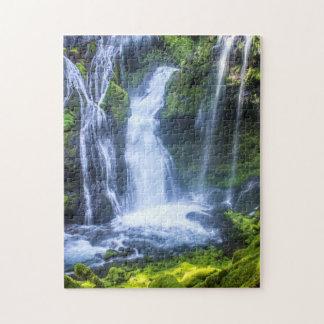Panther Creek Falls Jigsaw Puzzle