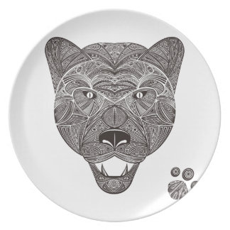 Panther Dinner Plates