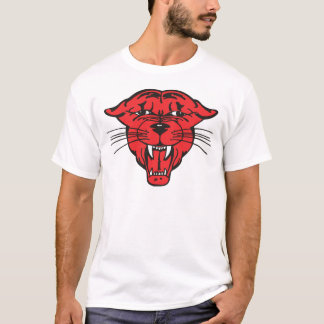 PANTHER FACE, red 01 T-Shirt