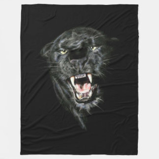 Panther Fleece Blanket