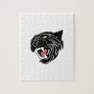 Panther Head Jigsaw Puzzle