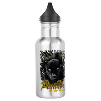 """Panther on the Prowl"" 532 Ml Water Bottle"