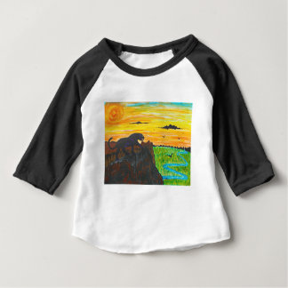 Panther on the prowl baby T-Shirt