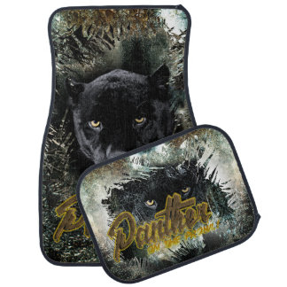"""""""Panther on the Prowl"""" Car Mat"""