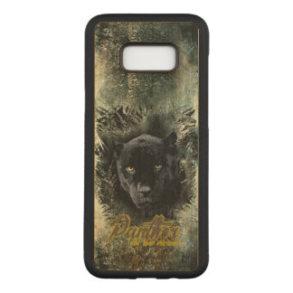 """""""Panther on the Prowl"""" Carved Samsung Galaxy S8+ Case"""