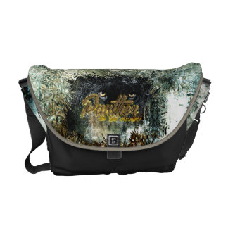 """Panther on the Prowl"" Commuter Bag"