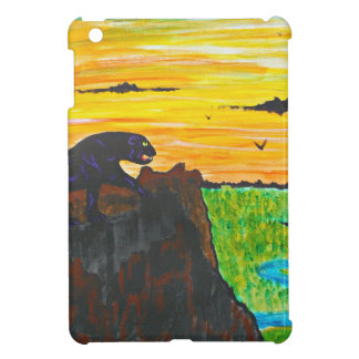 Panther on the prowl cover for the iPad mini