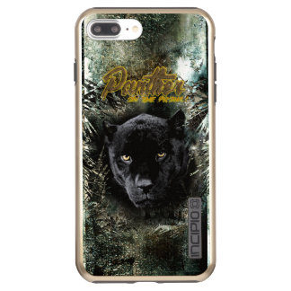 """""""Panther on the Prowl"""" Incipio DualPro Shine iPhone 8 Plus/7 Plus Case"""