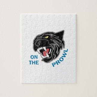 Panther On The Prowl Jigsaw Puzzle