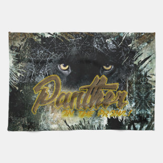 """Panther on the Prowl"" Kitchen Towel"