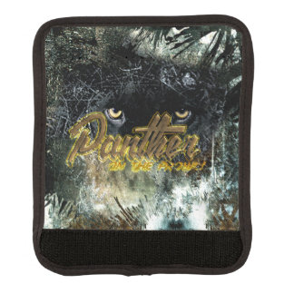 """""""Panther on the Prowl"""" Luggage Handle Wrap"""