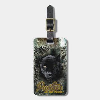 """Panther on the Prowl"" Luggage Tag"