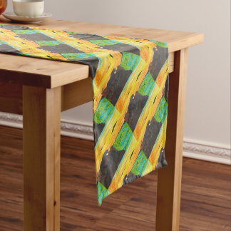 Panther on the prowl short table runner