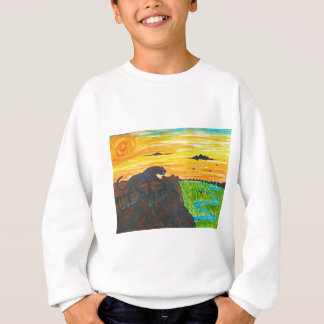 Panther on the prowl sweatshirt