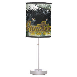 """Panther on the Prowl"" Table Lamp"