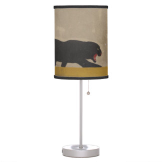 Panther On the Prowl Table Lamp