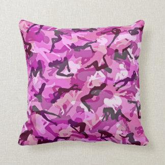 Panther Pink Throw Pillows