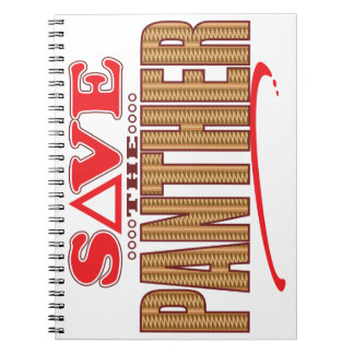 Panther Save Note Book