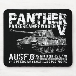Panther Tank Mousepad