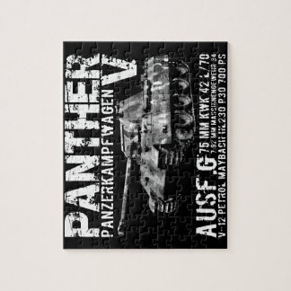 Panther Tank Puzzle
