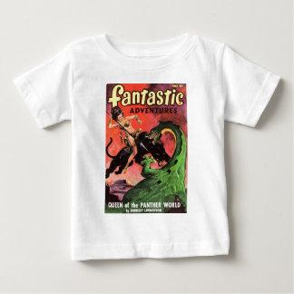 Panther vs Dinosaur Baby T-Shirt